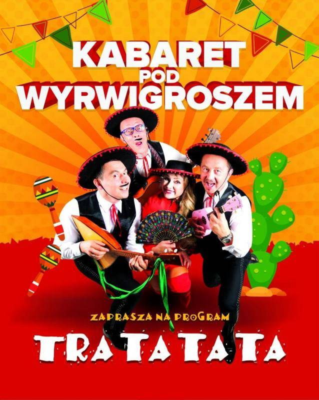 Kabaret Pod Wyrwigroszem w Miejskim Ośrodku Kultury w Pszowie