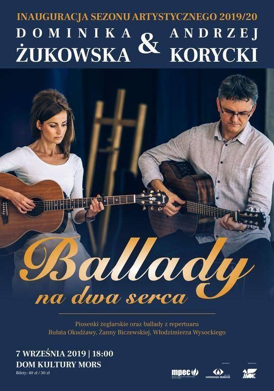 Koncert Andrzeja Koryckiego i Dominiki Żukowskiej w Domu Kultury Mors w Dębicy