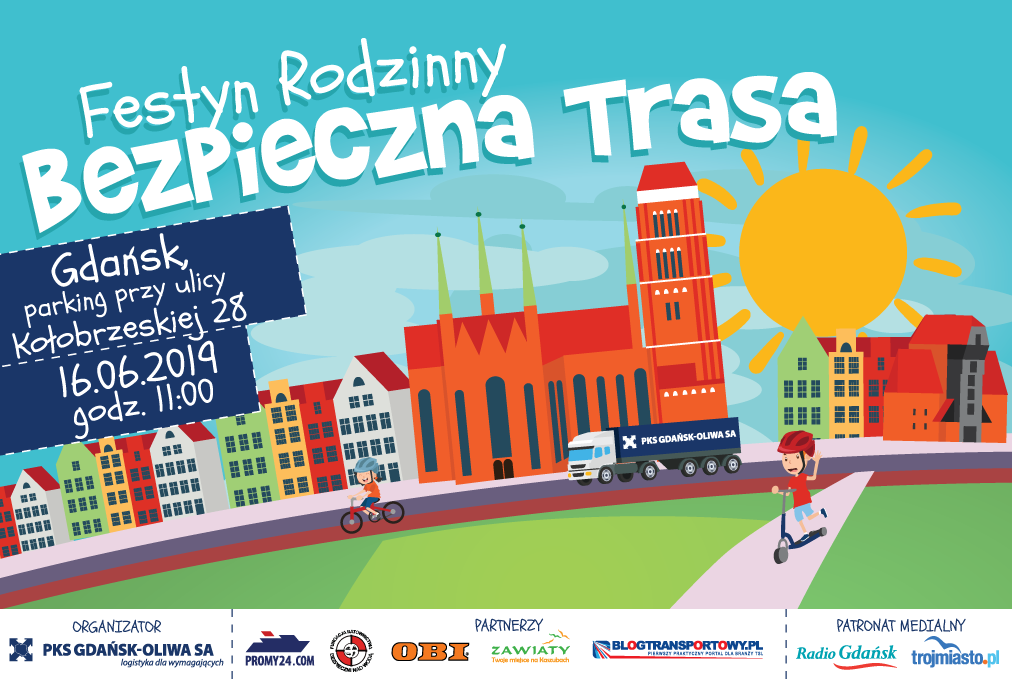 Bezpieczna Trasa 2019 - festyn rodzinny w Gdańsku