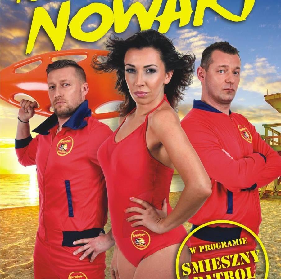 Kabaret Nowaki w Amfiteatrze w Międzyzdrojach: Śmieszny Patrol 2019