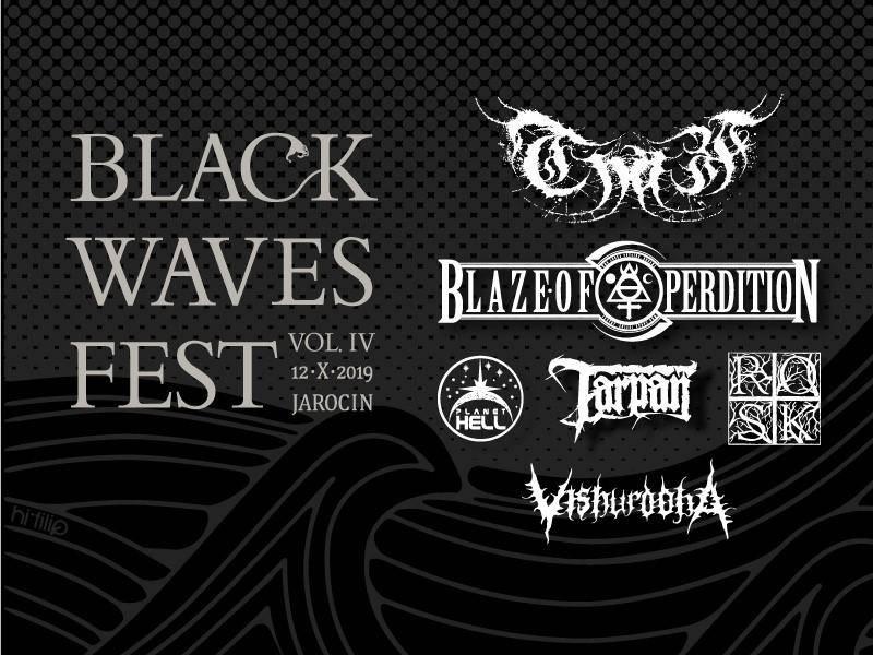Black Waves Fest vol. 4 w Jarocińskim Ośrodku Kultury w Jarocinie