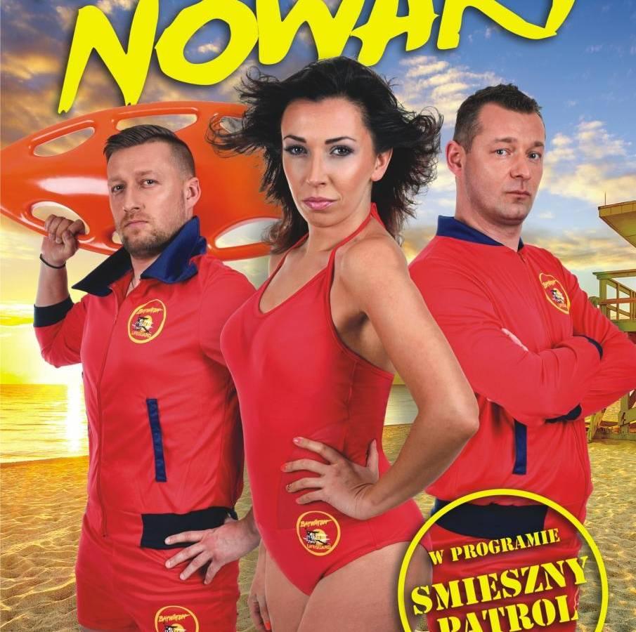 Kabaret Nowaki w Amfiteatrze w Dźwirzynie: Śmieszny Patrol 2019