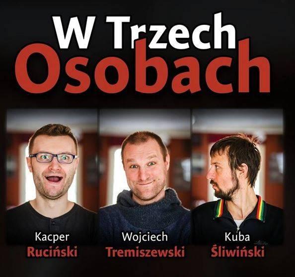 """Spektakl improwizowany """"W Trzech Osobach"""" w Klubie Scenografia w Łodzi"""