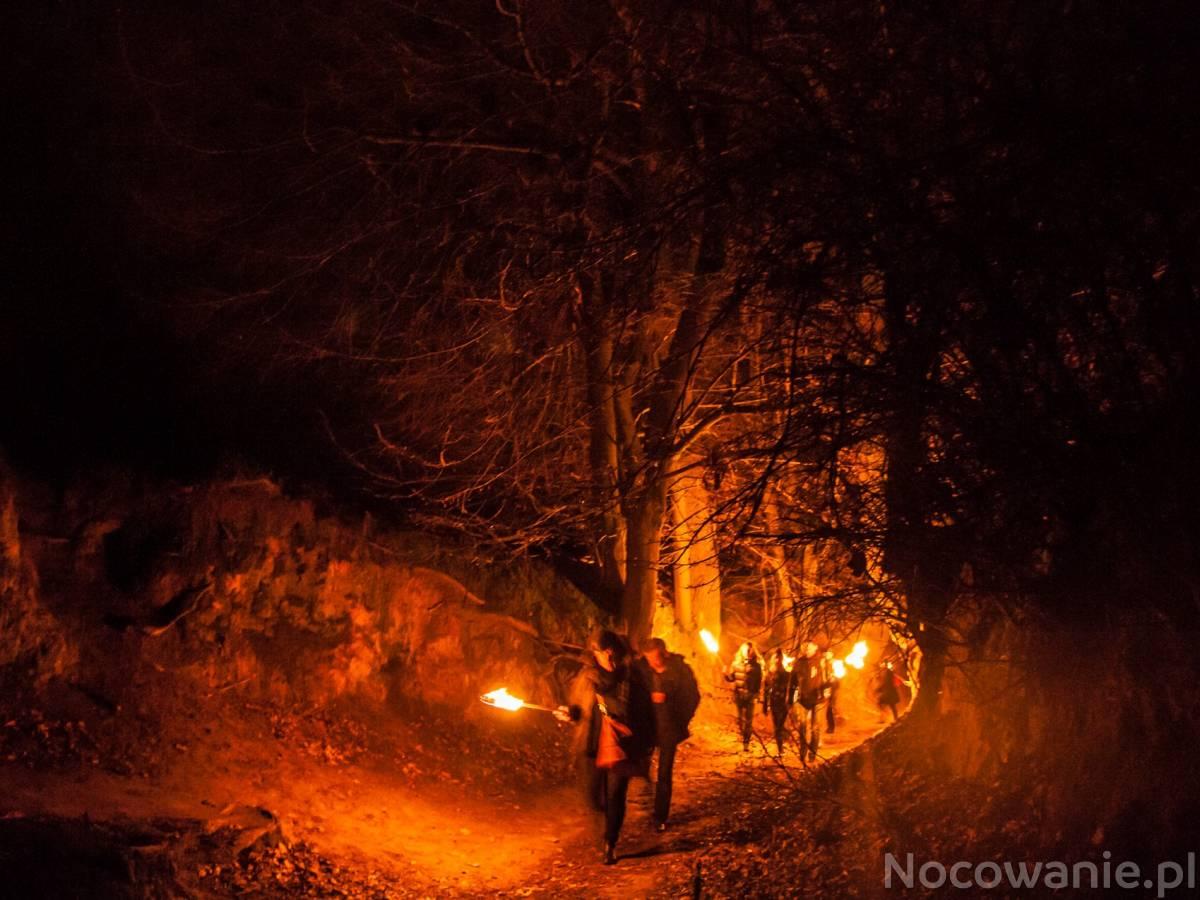 Nocne zwiedzanie Kazimierza