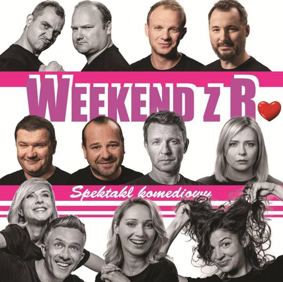 """Spektakl """"Weekend z R."""" w Kinie Remus w Kościerzynie"""