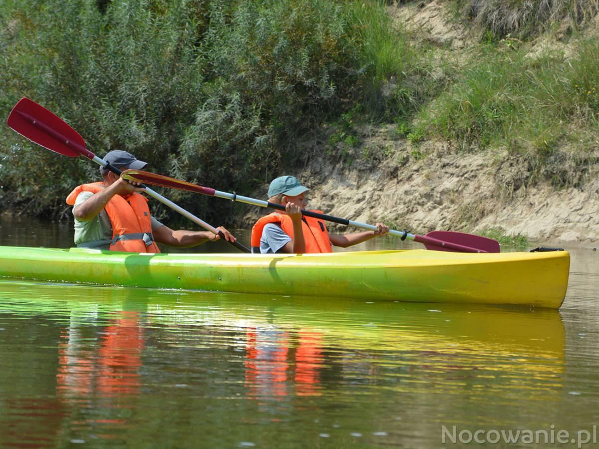 Spływ kajakowy Chodelka - Wisła