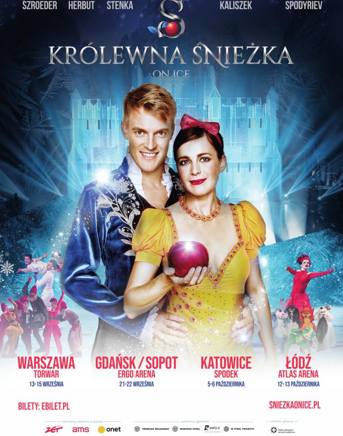 """Musical """"Królewna Śnieżka On Ice"""" w Ergo Arenie w Gdańsku"""