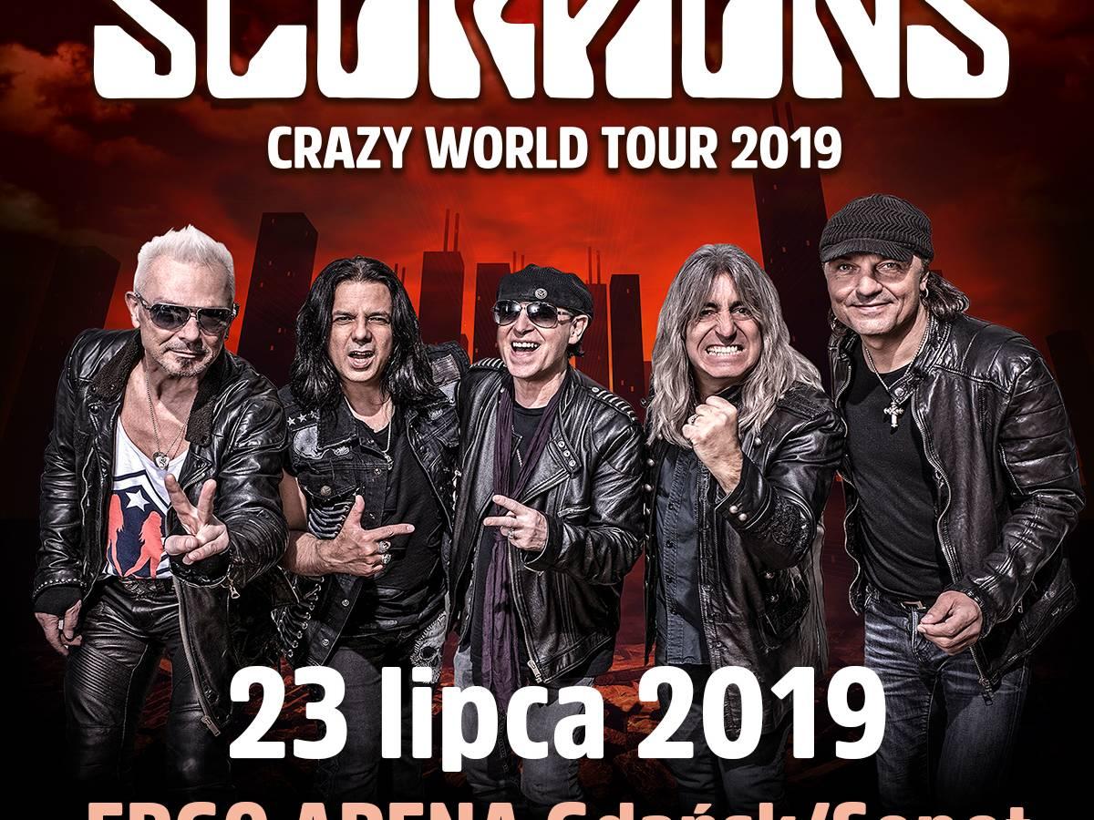 Koncert The Scorpions w ERGO ARENIE w Gdańsku
