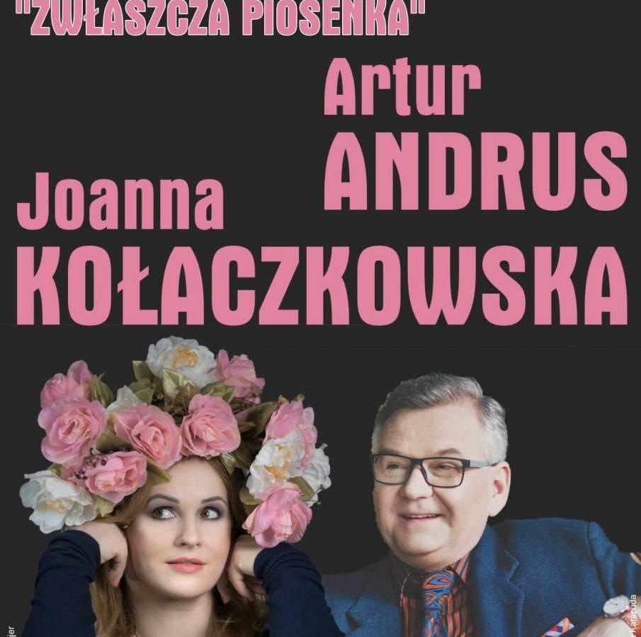 Recital Joanny Kołaczkowskiej i Artura Andrusa w Operze Nova w Bydgoszczy