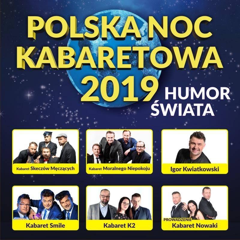 Polska Noc Kabaretowa 2019 w Giżycku