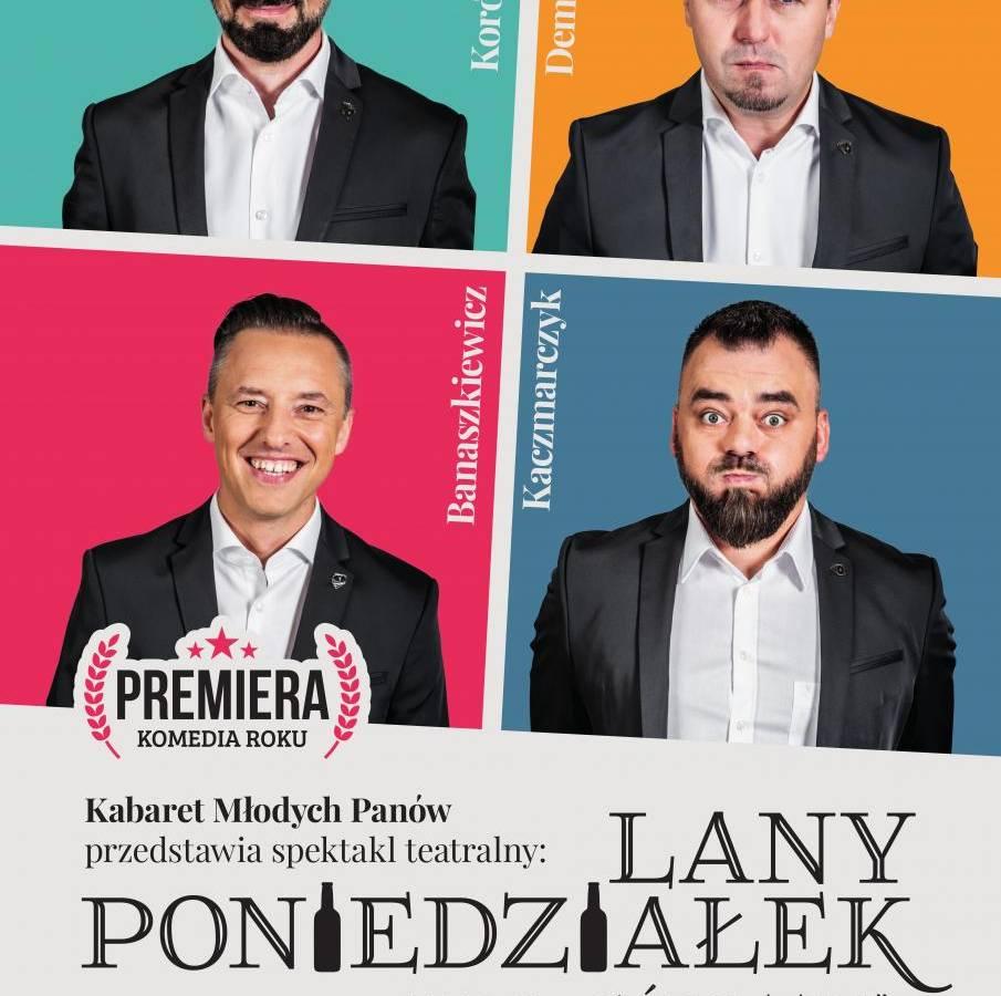 Kabaret Młodych Panów w Pałacu Kultury Zagłębia w Dąbrowie Górniczej