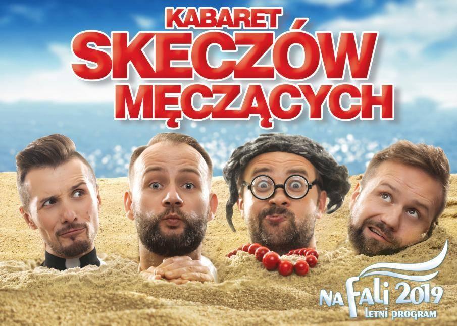 Kabaret Skeczów Męczących w amfiteatrze w Rewalu: Na fali 2019