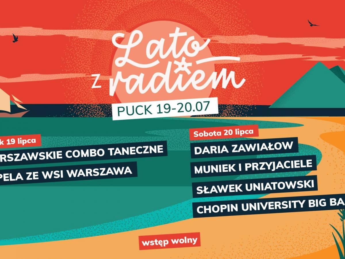 Lato z Radiem Festiwal 2019 w Pucku
