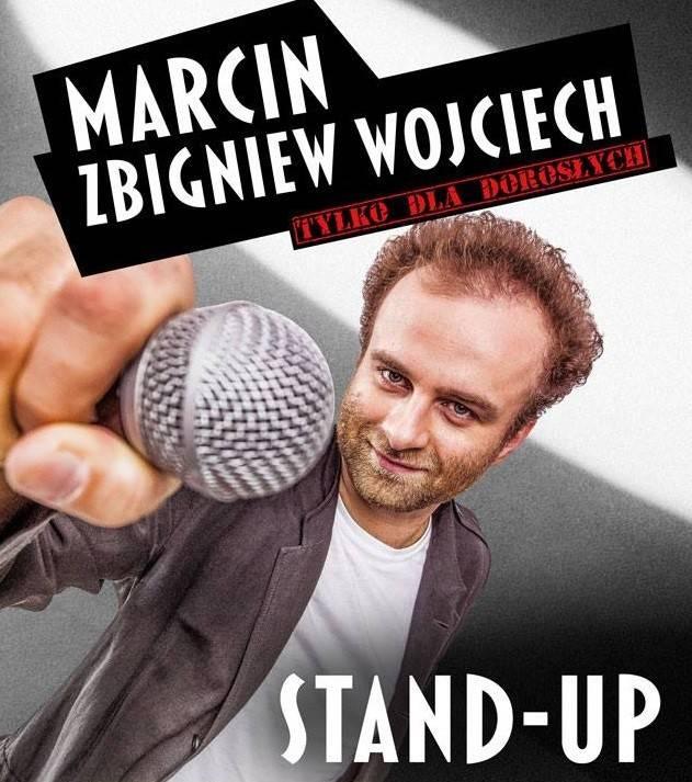 Marcin Zbigniew Wojciech Stand-up w Domu Kultury Chwałowice w Rybniku: My Polacy