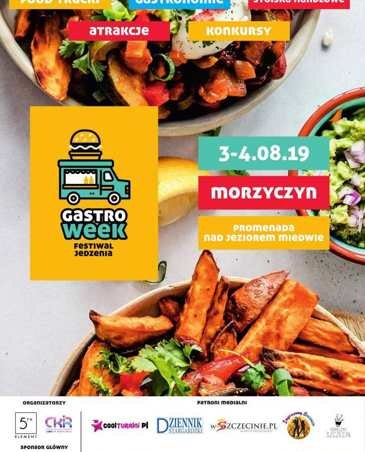 GastroWeek - festiwal jedzenia nad j. Miedwie w Morzyczynie