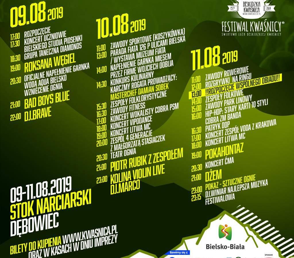 XVI Światowy Festiwal Kwaśnicy w Bielsku-Białej