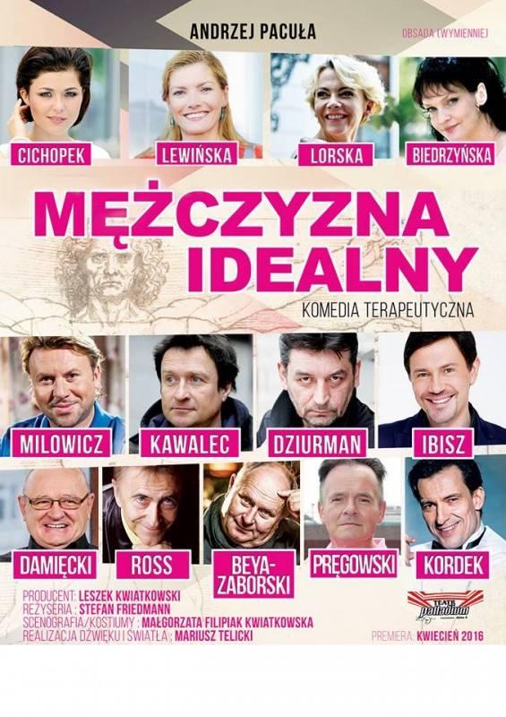 """Spektakl """"Mężczyzna idealny"""" w CKSiW w Kalwarii Zebrzydowskiej"""