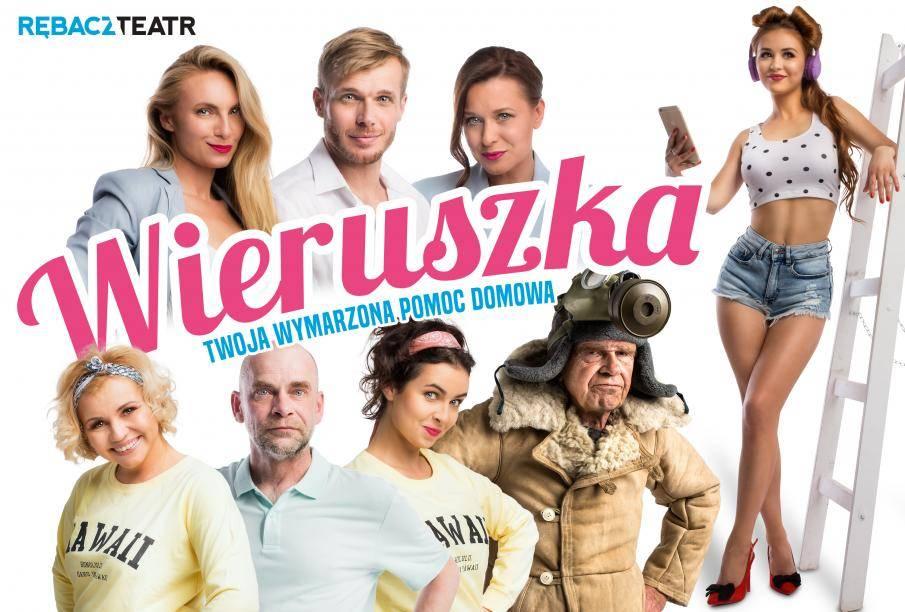 """Spektakl """"Wieruszka, czyli Twoja wymarzona pomoc domowa"""" w Mińsku Mazowieckim"""