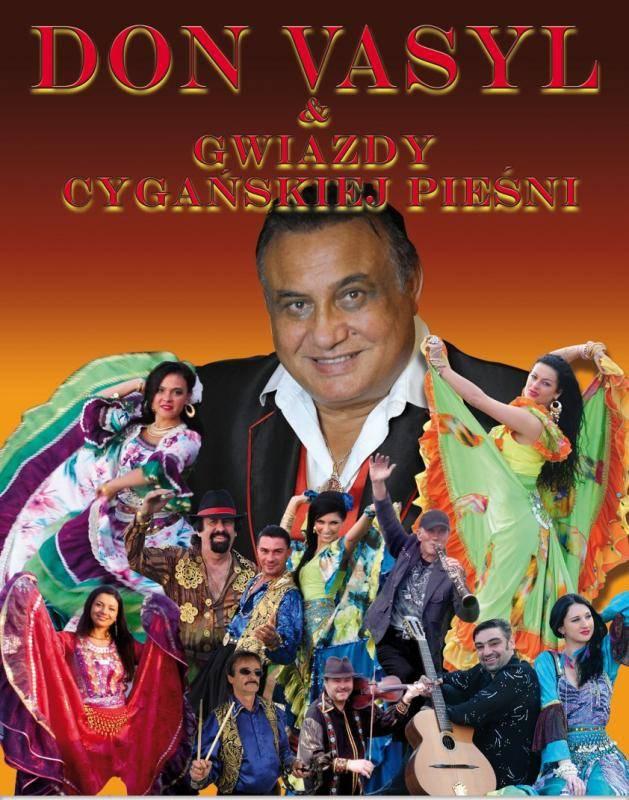 Koncert Don Vasyl i Gwiazdy Cygańskiej Pieśni w Busku-Zdroju