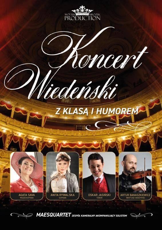 Koncert Wiedeński z Klasą i Humorem w Bielskim Centrum Kultury w Bielsku-Białej