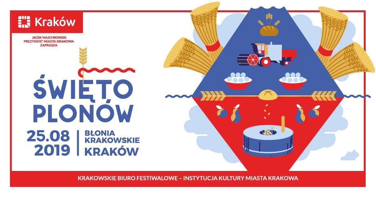 Święto Plonów 2019 na Błoniach w Krakowie