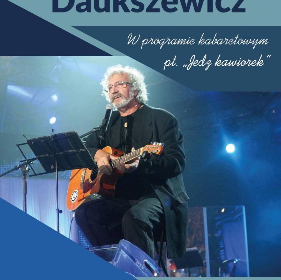 Krzysztof Daukszewicz w Bytowskim Centrum Kultury w Bytowie: Jedz kawiorek!