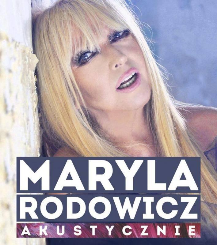 Koncert Maryla Rodowicz - akustycznie w Oświęcimiu
