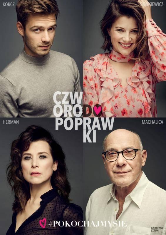 """Spektakl """"Czworo do poprawki"""" w Teatrze Imka w Warszawie"""