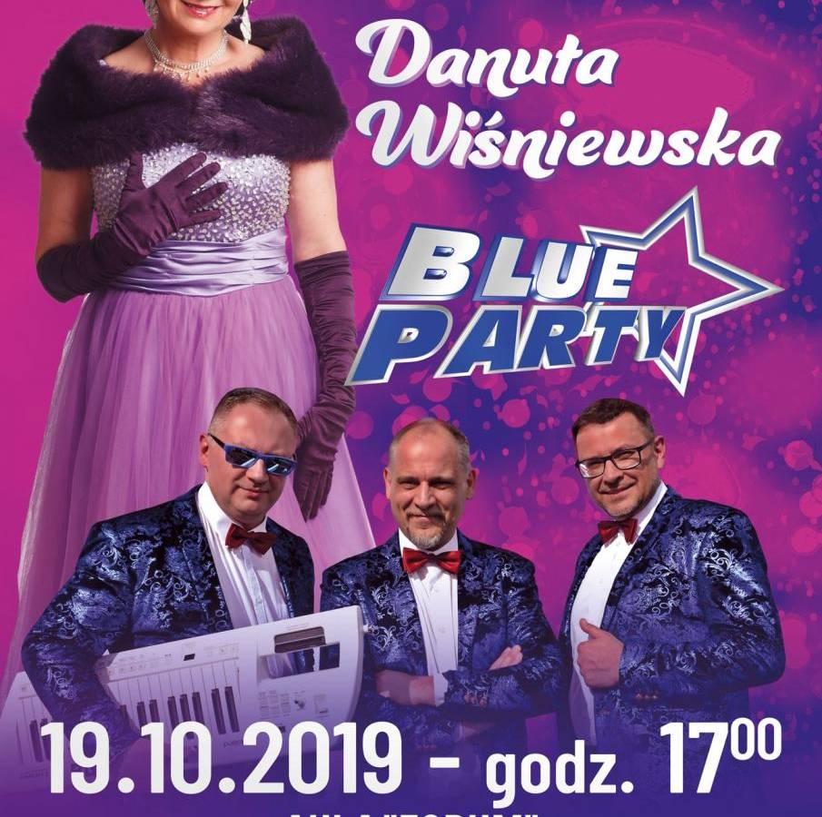 Koncert Danuty Wiśniewskiej i Blue Party w Polkowicach