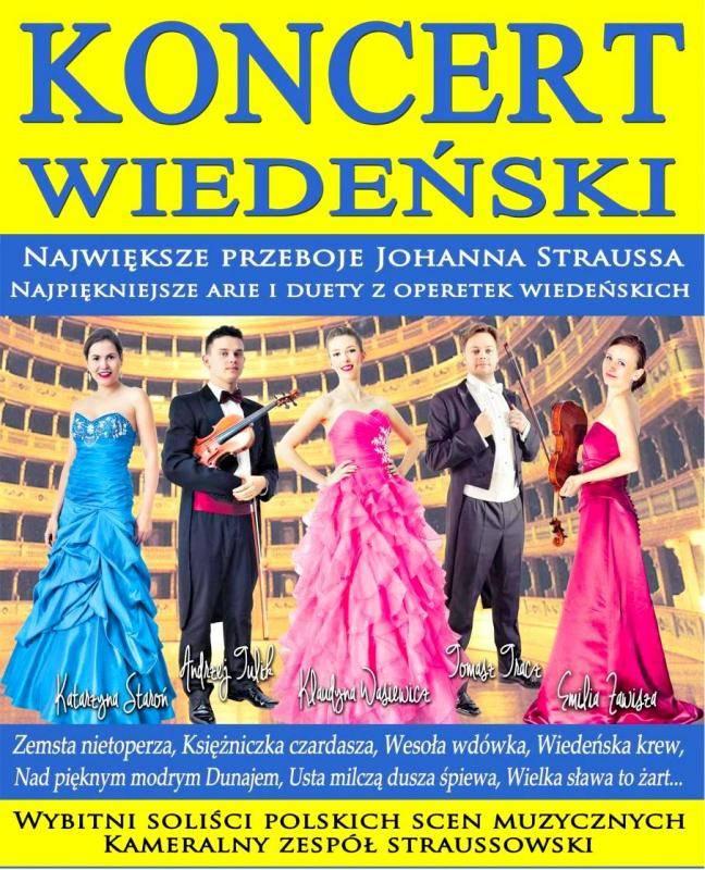 Największe przeboje Johanna Straussa w Czechowicach-Dziedzicach