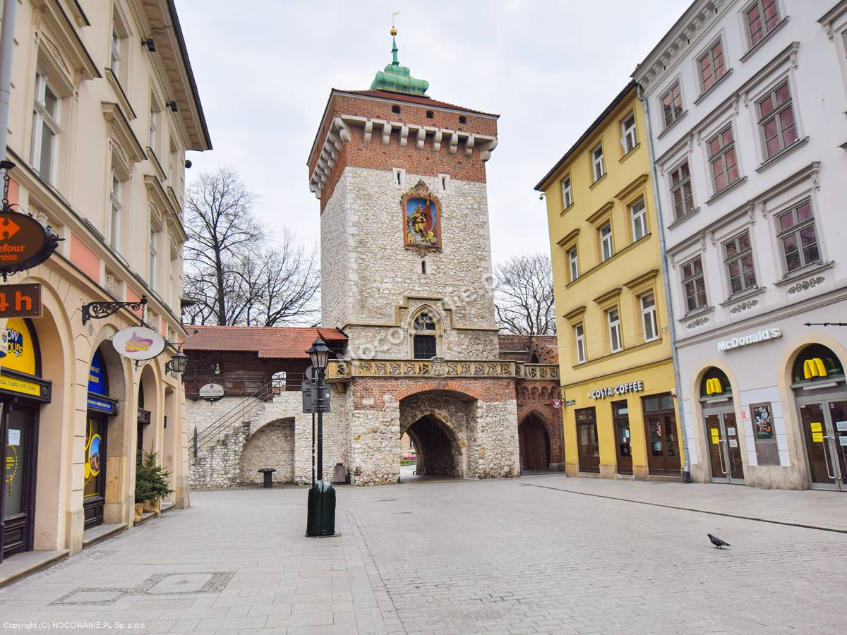Brama Florianska Krakow Cennik Bilety Godziny Otwarcia Dojazd