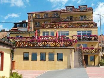 Hotel Na Skarpie Hotel Na Skarpie Mapka Mikołajki Mazury