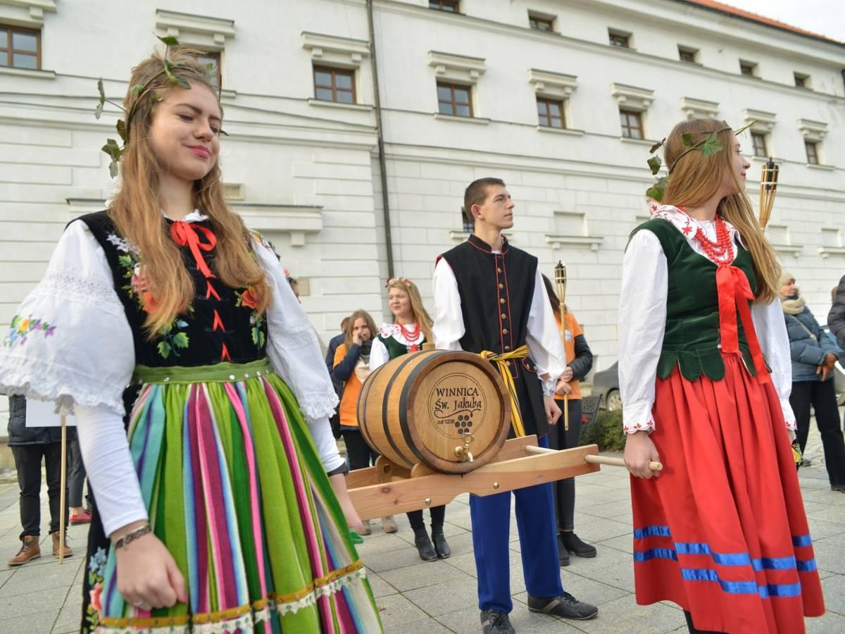 5. edycja Święta Młodego Wina w Sandomierzu