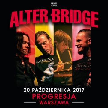 Koncert: Alter Bridge w Warszawie