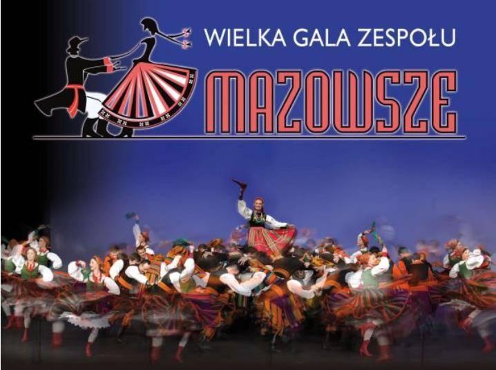 Wielka Gala Zespołu Mazowsze w Wałbrzychu