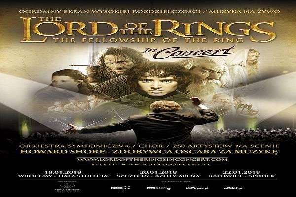 Widowisko muzyczne: The Lord of The Rings w Gdańsku