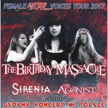 Female Metal Voices Tour - koncert zespołów metalowych w Szczecinie