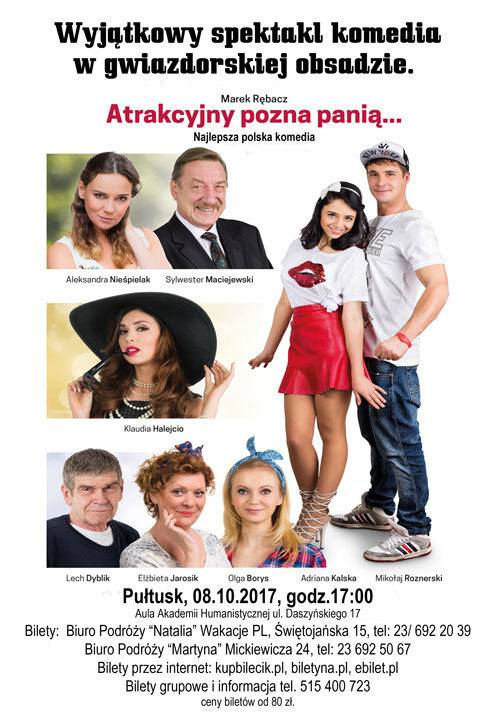 Spektakl: Atrakcyjny pozna panią... w Pułtusku