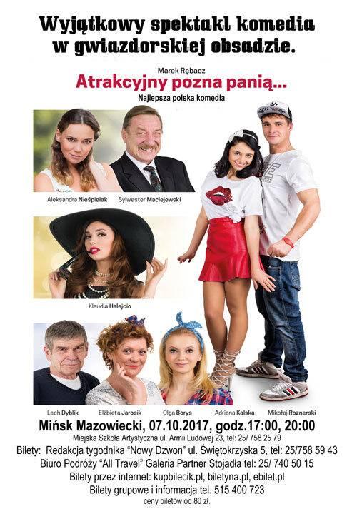 Spektakl: Atrakcyjny pozna panią... w Mińsku Mazowieckim