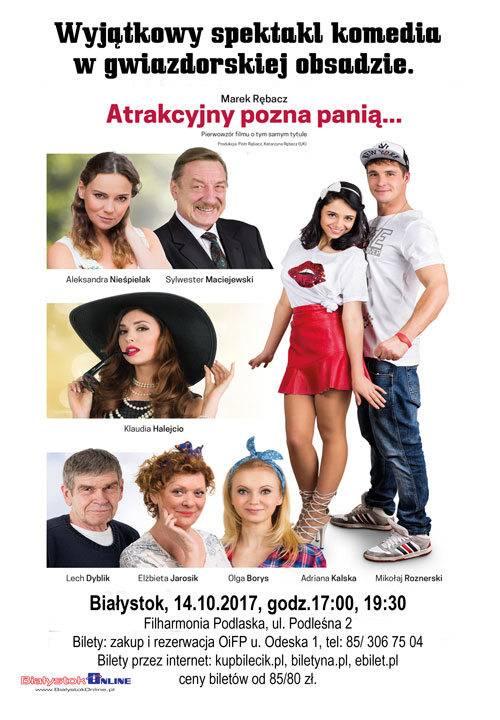 Spektakl: Atrakcyjny pozna panią... w Białymstoku