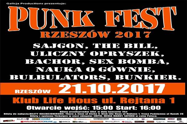 Punk Fest Rzeszów 2017