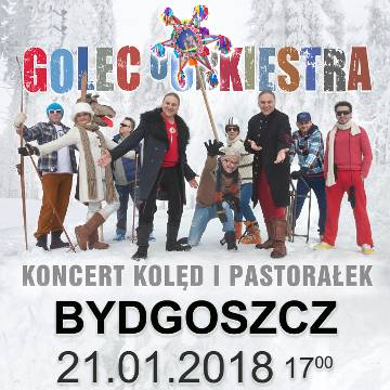 Golec uOrkiestra: Koncert Kolęd i Pastorałek w Bydgoszczy