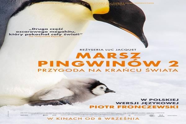 Marsz Pingwinów 2: Przygoda na krańcu świata w Kinie Światowid