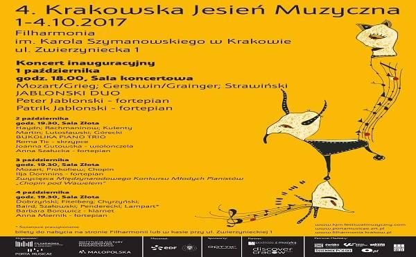 4. Krakowska Jesień Muzyczna: dzień I