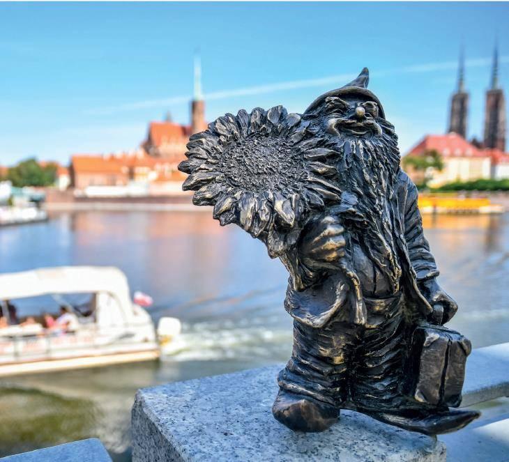 Krasnal Życzliwek Podróżnik zawita do Warszawy