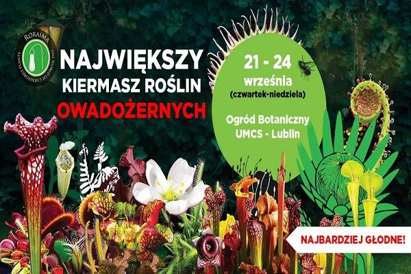 Największy Kiermasz Roślin Owadożernych w Lublinie
