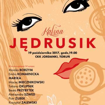 Koncert: Pejzaż bez Ciebie - Kalina Jędrusik w Toruniu