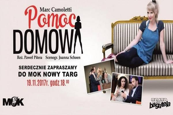 Pomoc Domowa - spektakl komediowy w Nowym Targu