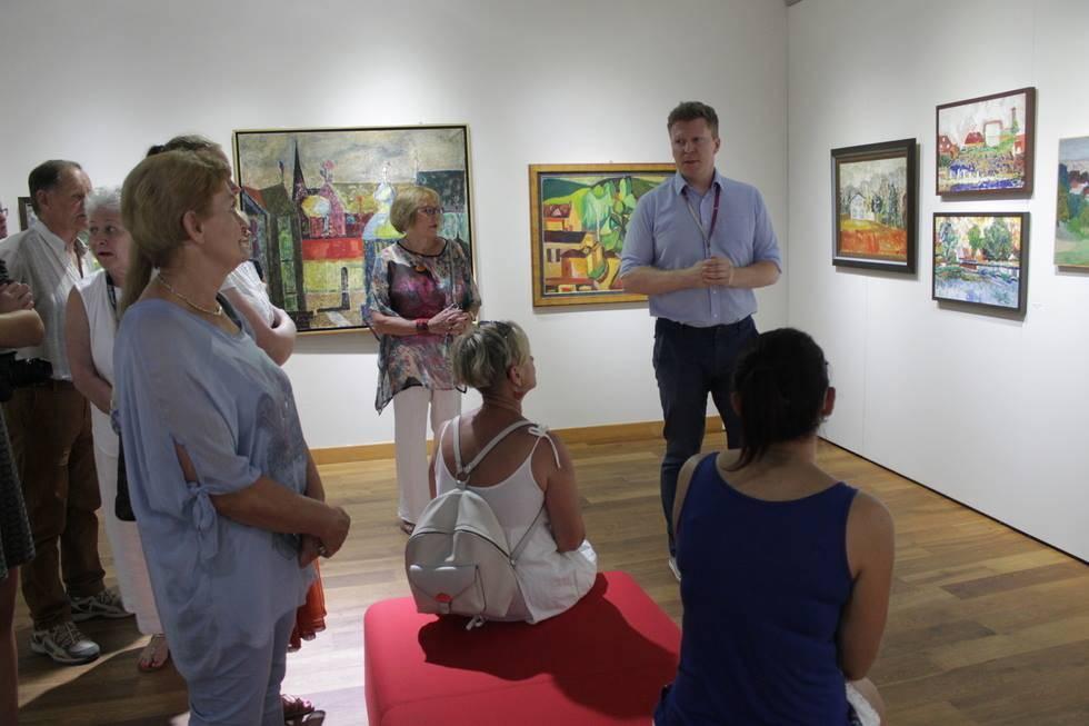 Finisaż wystawy Tadeusza Chyły