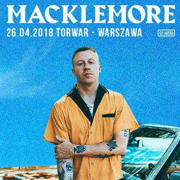 Koncert: Macklemore w Warszawie
